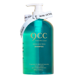 9CC Шампунь освежающий с аминокислотами - Amino acid fresh shampoo green, 500мл