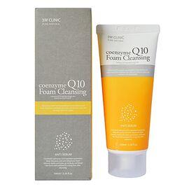 3W Clinic Пенка для умывания с коэнзимом Q10 - Coenzyme Q10 foam cleansing, 100мл