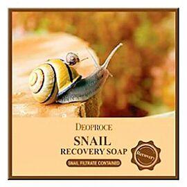 Deoproce Мыло с улиточным муцином - Soap snail, 100г