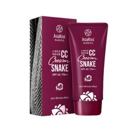 AsiaKiss Крем CC с пептидом змеиного яда - Snake CC cream, 60мл