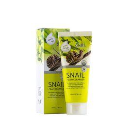 Ekel Пенка для умывания с улиточным муцином - Snail foam cleanser, 100мл