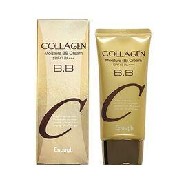 Enough Крем с коллагеном увлажняющий - Collagen moisture BB cream SPF47 PA+++, 50г