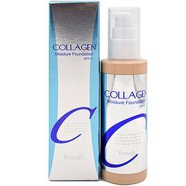 Enough Крем для лица тональный увлажняющий 21тон - Collagen moisture foundation SPF15, 100мл