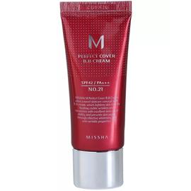 Missha ББ-крем для лица - M Perfect cover bb cream SPF42/PA+++ (No.21), 20мл
