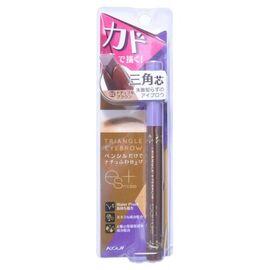 Koji Карандаш для бровей влагостойкий коричневый - Triangle eyebrow, 20г