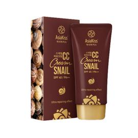 AsiaKiss Крем CC с муцином улитки – Snail CC cream, 60мл