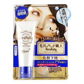 Sana База под макияж выравнивающая - Pore putty make up base clear, 25г