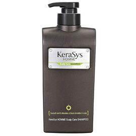 KeraSys Шампунь для волос мужской для лечения сухой кожи головы - Homme scalp care, 550мл
