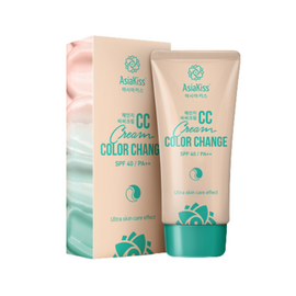 AsiaKiss Крем CC - Change сolor cream, 60мл