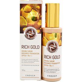 Enough Крем тональный с золотом - Rich gold double wear radiance foundation #13, 100мл