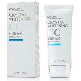 3W Clinic СС-крем для лица - Crystal whitening CC cream SPF50+/PA+++ #2, 50мл