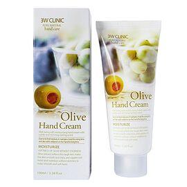 3W Clinic Крем для рук с оливковым маслом - Olive hand cream, 100мл, По компонентам: Оливковое масло, Объем: 100мл