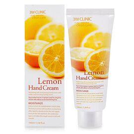 3W Clinic Крем для рук с экстрактом лимона - Lemon hand cream, 100мл, По компонентам: Лимон, Объем: 100мл