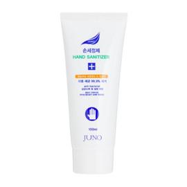 Juno Гель для рук увлажняющий с антибактериальным эффектом - Hand gel blue, 100мл