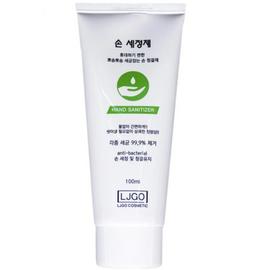 Juno Гель для рук смягчающий с антибактериальным эффектом - Ljgo hand gel green, 100мл