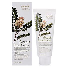 3W Clinic Крем для рук с экстрактом акации - Acacia hand cream, 100мл, По компонентам: Акация, Объем: 100мл