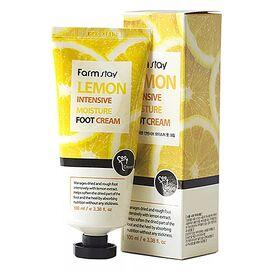 FarmStay Крем для ног смягчающий с экстрактом лимона - Lemon intensive moisture foot cream, 100мл