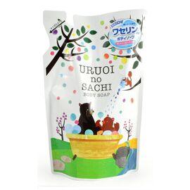 MAX Мыло для тела жидкое с ароматом персика - Uruoi no sachi body soap, 400мл