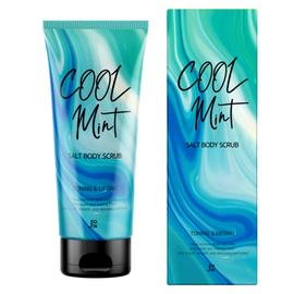 J:on Скраб для тела подтягивающий - Cool mint salt body scrub, 250г, По назначению: Подтягивающий