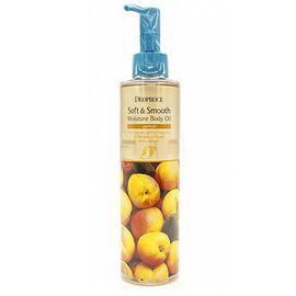 Deoproce Масло для тела смягчающее с абрикосом - Soft smooth body oil apricot, 200мл