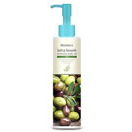 Deoproce Масло для тела смягчающее с оливой - Soft smooth body oil olive, 200мл