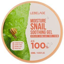 Lebelage Гель увлажняющий успокаивающий с муцином улитки - Moisture snail purity soothing gel, 300мл