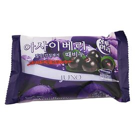 Juno Мыло отшелушивающее с асаи - Peeling soap acai berry, 150г