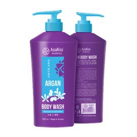 AsiaKiss Гель для душа с маслом арганы - Argan body wash, 500мл