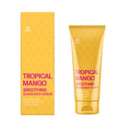 J:on Скраб для тела «манго» - Tropical mango smoothing sugar body scrub, 250г
