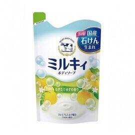 COW Мыло для тела молочное с ароматом свежести з/б - Milky body soap, 400мл