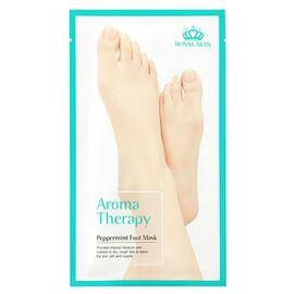 Royal Skin Носочки для ног тонизирующие с экстрактом мяты - Aromatherapy peppermint foot, 25г