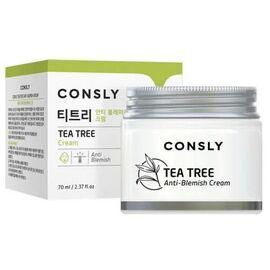Consly Крем для проблемной кожи с экстрактом чайного дерева - Tea tree anti-blemish cream, 70мл