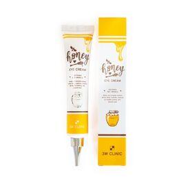 3W Clinic Крем для глаз питательный с экстрактом меда - Honey eye cream, 40мл