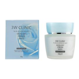 3W Clinic Крем для лица отбеливающий - Excellent white cream, 50г