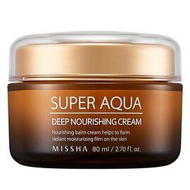 Missha Крем интенсивный увлажняющий питательный - Super aqua ultra deep nourishing cream, 80мл