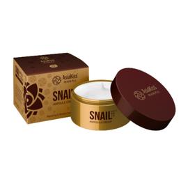 AsiaKiss Крем ампульный для лица с экстрактом слизи улитки - Snail ampoule cream, 50мл