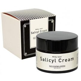 Elizavecca Крем салициловый с эффектом пилинга - Sesalo face control system salicyl cream, 50мл