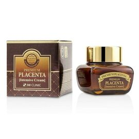3WClinic Крем для лица омолаживающий с плацентой - Premium placenta intensive cream, 50мл