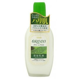 Meishoku Молочко увлажняющее для ухода за кожей лица - Green plus aloe moisture milk, 170мл