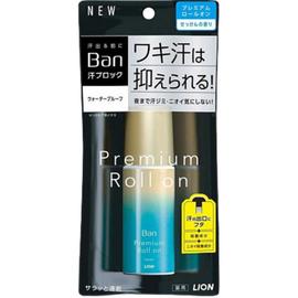 Lion Дезодорант-антиперспирант нано-ионный с ароматом цветочного мыла - Ban premium gold label, 40мл