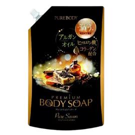Mitsuei Крем-мыло с аргановым маслом, гиалуроновой кислотой и коллагеном з/б, 840мл