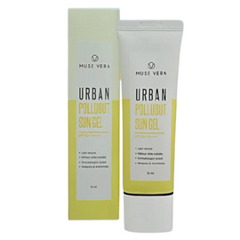 Deoproce Гель для лица солнцезащитный - Muse vera urban polluout sun gel, 50мл