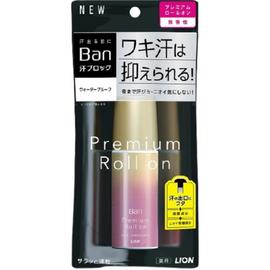 Lion Дезодорант-антиперспирант нано-ионный без аромата - Ban premium gold label, 40мл