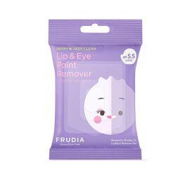 Frudia Диски мицеллярные для снятия макияжа с глаз и губ - Blueberry micellar remover pad, 10уп*55г