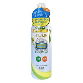 Funs Кондиционер для белья с антибактериальным эффектом и ароматом цитруса, 600мл