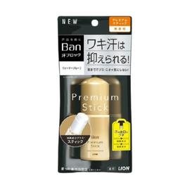 Lion Дезодорант-антиперспирант премиум стик без аромата - Ban premium stick gold label, 20г
