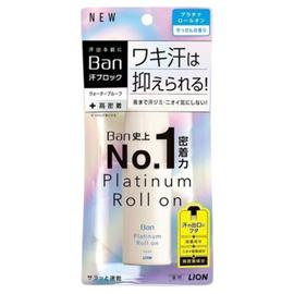 Lion Дезодорант-антиперспирант влагостойкий с ароматом цветочного мыла - Ban platinum roll on, 40мл