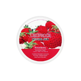 Deoproce Крем для лица и тела с экстрактом клубники - Natural skin strawberry nourishing, 100мл