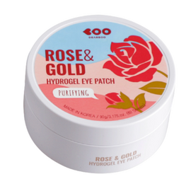 Dearboo Патчи гидрогелевые «роза и золото» - Rose gold hydrogel eye patch, 60шт