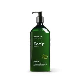 Aromatica Шампунь бессульфатный укрепляющий с розмарином - Rosemary scalp scaling shampoo, 250мл, Объем: 250мл